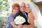 Bride parents shot