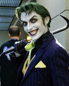 Here he is again; the Cosplay Joker