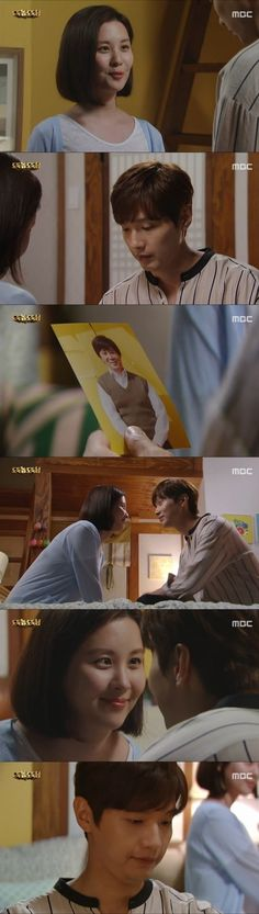 "[Spoiler] ""Bad Thief, Good Thief"" Seohyun comforts Ji Hyeon-woo with a picture of his father"