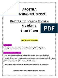 apostila ensino religioso 6 ano 1bimestre (1).pdf   Humano   Emoções 1, Religion Activities, Fundamental 5, Toddler Classroom, Teaching Plot, Bicycles, Pictures