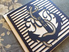 Laser+Cut+Wedding+Invitations+Nautical+Themed