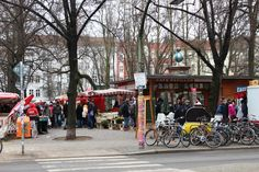 The Boxhagener Platz in #Berlin #Friedrichshain is a perfect #meetingpoint for you and your #friends! Check it out! #eattheworld #foodtours