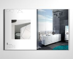 Riflessi Catalogue by Max Lippolis, via Behance Catalog Design, Bathroom Lighting, Mirror, Architecture, Leaflets, Projects, Console, Furniture, Behance