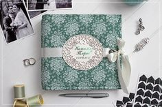 Wedding Photo Book Bridal Shower Guest Book Custom Photo