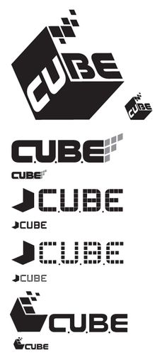 AION'S CUBE LOGO COMPS by Ryan Deyo, via Behance