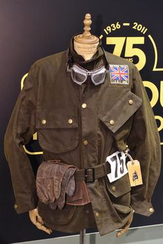 Barbour  international 75 anniversary