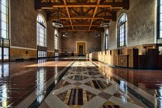 Whispers of the past - Union Station, Los Angeles
