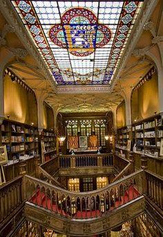Livraria Lello e irmão,Portugal