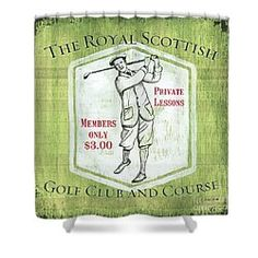 Choose your favorite golf shower curtains from thousands of available designs. All golf shower curtains ship within 48 hours and include a money-back guarantee. Golf Green, Golf Theme, Vintage Golf, Fine Art America, Curtains, Shower, Design, Rain Shower Heads, Blinds