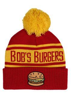 Bob's Burgers Logo Pom Beanie