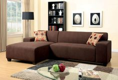 Sectional Sofa Leduc Collection CM6825
