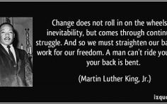 Quotes About Change Mlk