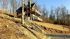 Log Cabin on the Mountain with A Million Dollar View, yet close to DowntownVacation Rental in Chattanooga from @HomeAway! #vacation #rental #travel #homeaway