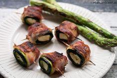 Gegrillte Bacon-Zucchini-Feta Röllchen Rezept - MakeItSweet.de