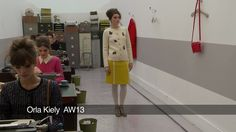 Orla Kiely London Fashion Week show: Orla Kiely AW 2013 Collection