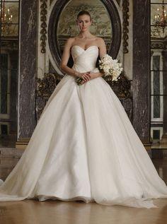 abito da sposa romantico floreale 2016 romona keveza
