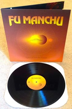 "FU MANCHU ""Signs Of Infinite Power"" LP (Black Vinyl)"