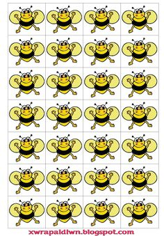 včelky Insect Crafts, Bee Crafts, Bee Activities, Family Day Care, Spelling Bee, School Posters, Bee Theme, Classroom Themes, Bugs
