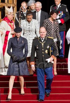 HSH Princess Charlene & Albert of Monaco