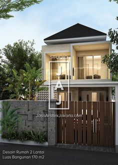 Minimalist Bedroom Ideas and Inspiration Modern Small House Design, Minimalist House Design, Minimalist Bedroom, Minimalist Home, Modern Design, Two Storey House Plans, Small House Plans, Villa Design, Style At Home
