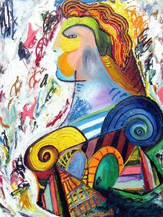King Louis of France King Louis Of France, Vito, Contemporary Abstract Art, Original Paintings, Artist, Artists