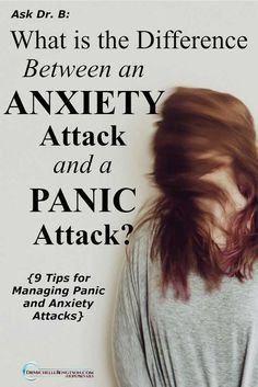 Have you ever experienced an anxiety attack or a panic attack and weren't sure which it was? Learn the difference between the two as well as tips for managing them. #panicattack #anxiety #mentalhealth