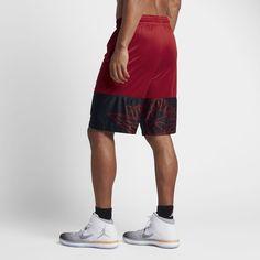 Jordan Wings Blockout Men's Basketball Shorts Gym Red/Black
