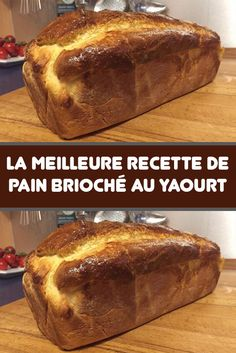 The best recipe for Brioche Bread with Yogurt - A very light and tasty brioche with a nice, airy crumb, a delight. If you are looking for a brioche - Cooking Chef, Cooking Recipes, Mexican Dessert Recipes, Brioche Bread, Healthy Cookies, Dinner Recipes For Kids, Cheap Meals, Healthy Breakfast Recipes, Good Food