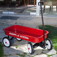 Have to have it. Radio Flyer Classic Red Wagon - $94.97 @hayneedle.com