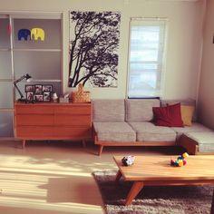 mi04_08のお部屋写真 about 'Lounge,ソファー,モビール,ソファ,ラグ,ムーミン,DIY,ファブリックパネル,マリメッコ,北欧,unico,北欧雑貨,北欧インテリア,'. RoomClip, インテリア実例集、RoomClip(ルームクリップ)