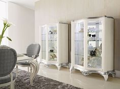 Capri display cabinets Jetclass | Real Furniture luxury furniture and Interior Design
