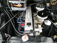 chevrolet 235 straight six   1955 235 CUI INLINE 6 CLY ENGINE