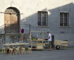Mobile Gastfreundschaft by Kollectiv Stadtpark - Dezeen