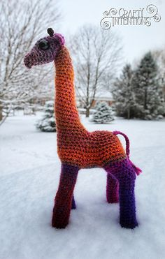 Ravelry: Giraffe pattern by Crafty Intentions