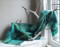 60s Mohair Shawl Scarf SCOTLAND HILLTOP Vintage Shadow Plaid Teal Green fringe furry Long Lap BLANKET Bed Throw Woman Home Decor Accessories by HarlowGirls on Etsy Teal Green, Shades Of Green, Mohair Throw, Lap Blanket, Bed Throws, Home Decor Accessories, Scotland, Shawl, Plaid