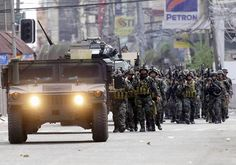 Armed Forces in Zamboanga Philippines