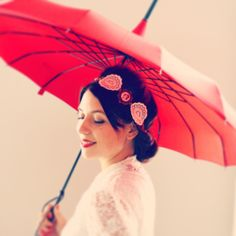 headband blanc retro dentelles mariage illustr geisha ventail et perles chinoises accessoires - Chinagora Mariage