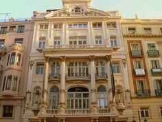 Teatro Alcázar. Calle de Alcalá