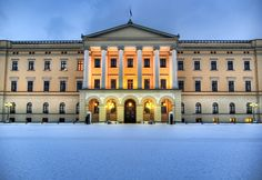 The Royal Palace in Oslo, #Norway.