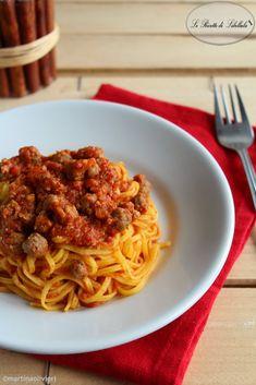 #Chitarra con #pallottine #Chitarra con #pallottine #ricetta #foodporn #gialloblogs