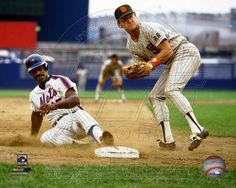 San Diego Padres, New York Mets - Graig Nettles, George Foster Photo
