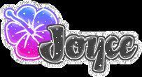 joyce glitter flowers