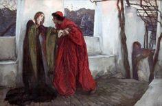 Edwin Austin Abbey (1852-1911) - O Mistress Mine, Where Are You Roaming…