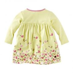 Cute Vogelnest Wrap Style Baby Girl Dress | Tea Collection