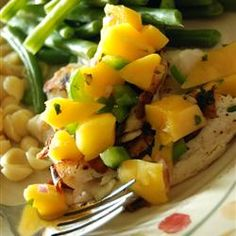 Grilled Tilapia with Mango Salsa - Allrecipes.com