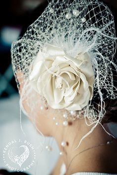 Stylish Wedding Headpiece @Felicia Marie