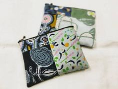 Pouch, Wallet, Happy Day, Coin Purse, Quilts, Purses, Mini, Bags, Clutch Bags