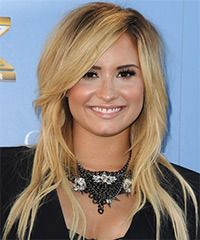 Demi Lovato Hairstyle - Casual Long Straight