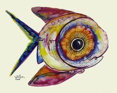 """""""Study for AcidFish 103""""  (2008) J. Vincent Scarpace"""