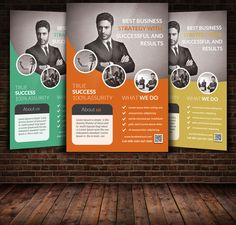 Business Flyer Template by Psd Templates on @creativemarket